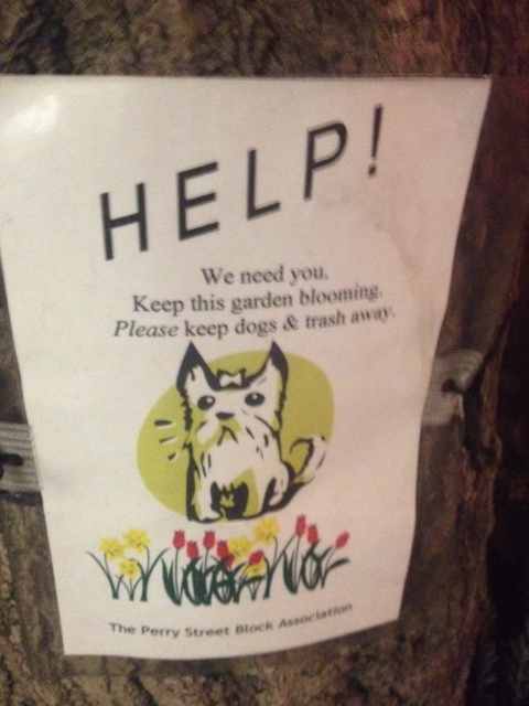 Curb Your Dog Signs - Curb Your Pet Signs - Protect NYC ...